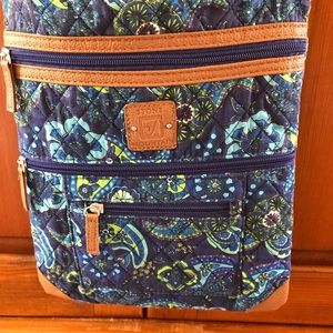 Stone Mountain quilted crossover purse